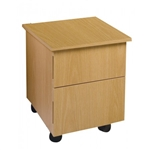 Alfalfa Wooden Pedicure Cart