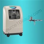 Source One Beauty Alva Beauty oxygen machine oxygen infusion microdermabrasion oxygen concentrator 2 liter tank 5 liter tank microderm machine