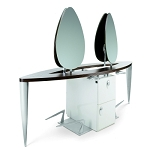 Euripides Central Island Styling Unit by Gamma
