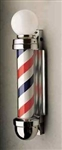 William Marvy Barber Non Revolving Pole - Two Light No 333