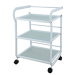 Arcus Beauty Trolley With 3 Tier Glass - USA- 1013