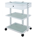 Abel + Beauty Trolley With Three Tier Glass - USA-1040A
