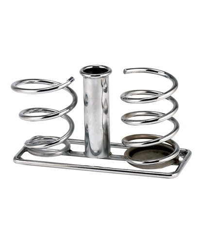 Pibbs 1555 Double Twist Hair Dryer Holder W Curling Iron